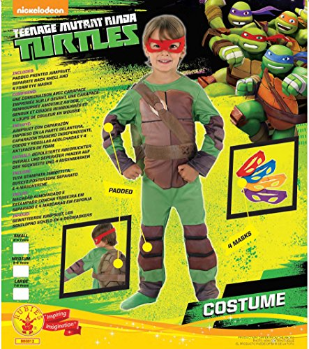 Imagen de rubie's  disfraz tortugas ninja de niño, talla m i 886812m  alternativa