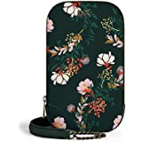DailyObjects Lush Midnight Tallboi Sling Crossbody Bag for girls and women | Vegan leather Mobile Phone Bag | Stylish, Sturdy