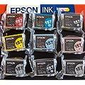 Set Genuine Epson ink cartridge 157 series for Stylus Photo…