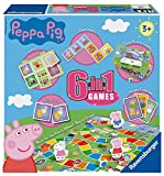 Image of Ravensburger Puzzle Peppa Wutz, 6 in 1 Spiele.