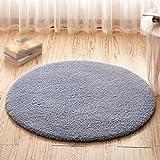 XIN-Carpet Grau runde Teppich/Dicke Teppich matratze/Computer Stuhl Stuhl Stuhl Korb Hoist...