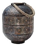Kare 38217 Bodenleuchte Sultan, 31 cm, Stahl, schwarz