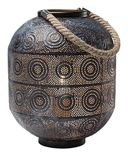 Kare 38217lámpara de suelo Sultan, 31cm, acero, color negro