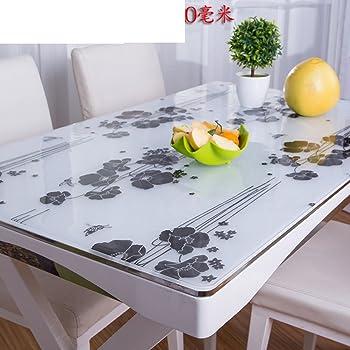xkqwan tischtuch wasserdicht burn proof l beweis einweg kunststoff transparente tabelle mat. Black Bedroom Furniture Sets. Home Design Ideas