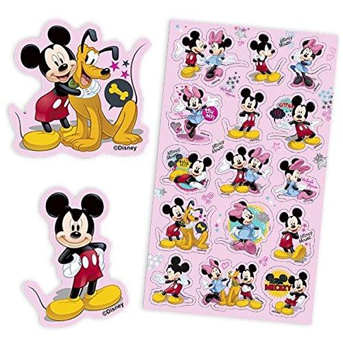 Funny Produkte Aufkleber Mickey und Seine Freunde, NZGMI04, Mehrfarbig