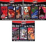 Die Drei ??? (Fragezeichen) - Folgen 46-54 (3 CD Box 16+17+18) im Set - Deutsche Originalware [9 CDs]