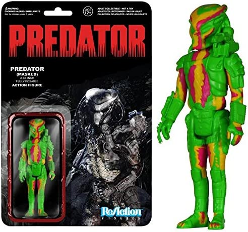 Predator ReAction Action Figure Predator (Heat Vision) 8 cm Funko Figures | 2019