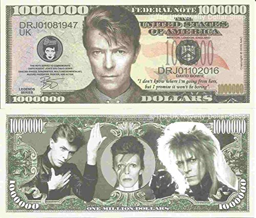 Novelty Dollar David Bowie Robert Jones Commemorative for sale  Delivered anywhere in UK