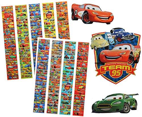 alles-meine.de GmbH 3 * 650 tlg. - XXL - Set Sticker / Aufkleber -  Disney Auto Cars - Lightning ..