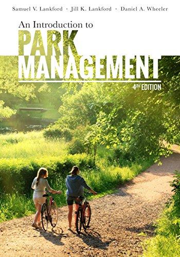 An Introduction to Park Management por Samuel V. Lankford