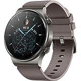 Huawei Watch Gt 2 Pro Classic Smartwatch (35 Mm Amoled-Display, SpI2-Monitoring, Hartslagmeting, Muziek Afspelen & Bluetooth