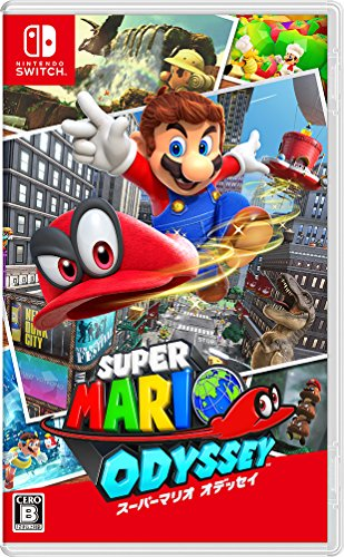 Super Mario Odyssey NINTENDO SWITCH JAPANESE IMPORT REGION FREE