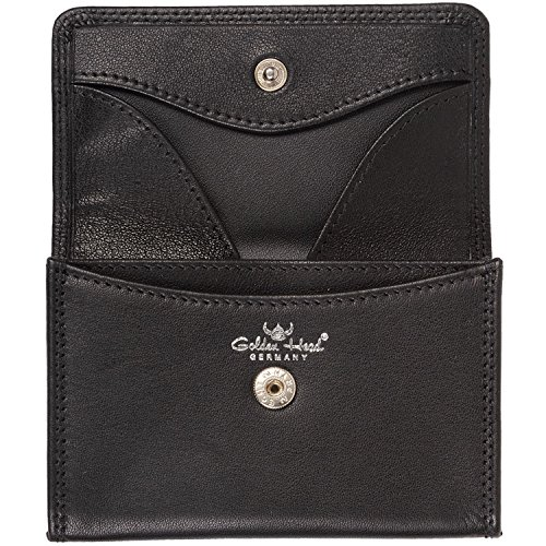 Golden Head Polo Wallet XS Black red