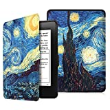 Fintie Ultra Sottile Custodia per Kindle Paperwhite - Compatibile con Tutte le Generazioni Prima del 2018 - non Compatibile con All-New Kindle Paperwhite 10a Gen Modello 2018, Starry Night