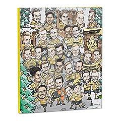 Idea Regalo - Borussia Dortmund Comic Calendario dell' Avvento 2017, 25Tavolette di Cioccolato, autografi One Size