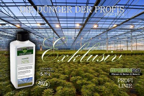 GREEN24 Blumenzwiebel-Dünger Zwiebelblumen Flüssigdünger HIGHTECH
