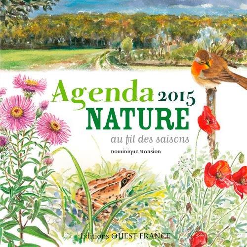 Agenda Nature 2015 par Mansion/Eberhard