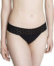 Cocoro Tanga Aran - Wiederverwendbares, saugfähiges Menstruationshöschen, erhältlich in unterschiedlichen Größen - Schwarz