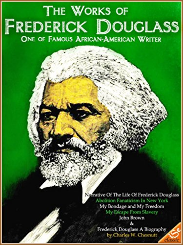 a biography of frederick douglass the author