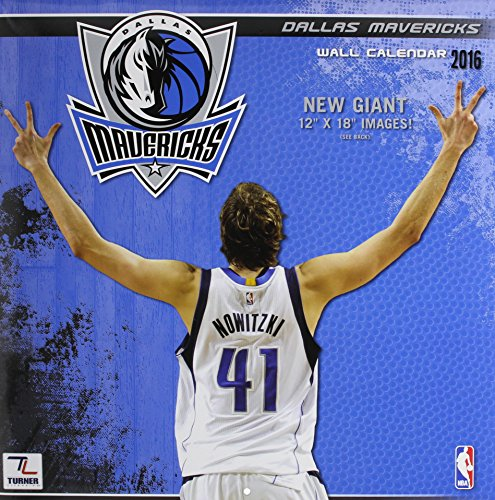 Dallas Mavericks 2016 Calendar