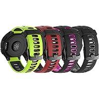 NotoCity Bracelet 735xt Forerunner Montre Fitness Tracker Silicone Souple Bracelet de Replacement Sport Compatible…