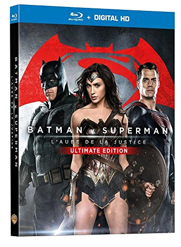 BATMAN V SUPERMAN : L'AUBE DE LA JUSTICE - Version Longue -Ultimate Edition - Blu-Ray - DC COMICS
