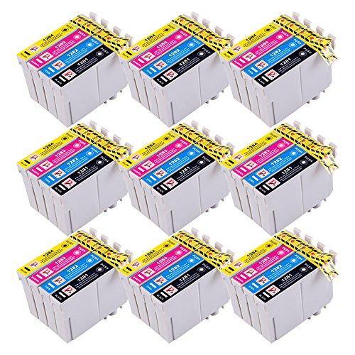 36 Perfect Print inchiostro compatibile cartuccia Sostituire T1281 T1282 T1283 T1284 (T1285) per Epson Stylus S22 SX125 SX130 SX420W SX425W SX445W BX305F BX305FW SX230 SX235W SX445W SX435W SX430W SX438W SX440W Stampanti