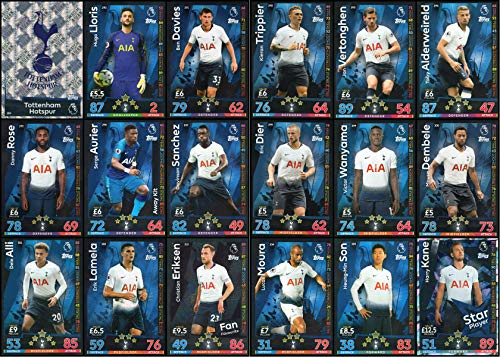 Carte Angleterre Tottenham.Topps Match Attax 2018 19 Le Meilleur Prix Dans Amazon Savemoney Es