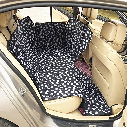 Hamaswan Autositzbezug Für Hunde Schondecken Tragbarer Oxford-Stoff, Wasserdicht Und Leicht Zu Reinigen -