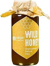 Siddhagiri's Satvyk Organic Raw Wild Honey 500 Grams