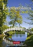 Lebensweisheiten - Kalender 2018 - Harenberg-Verlag - Wochenkalender mit Zitaten - 16,5 cm x 23 cm