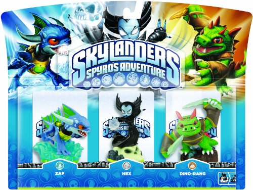 Skylanders - Triple Pack E: Hex, Zap, Dino-Rang (Xbox 360-spiel Brick)