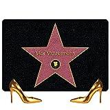 Personalisierte Fußmatte mit Namen bedrucken - Walk of Fame - persönliche Fußmatten zur Hochzeit