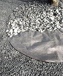 WIGAWay Gartenvlies Unkrautvlies Unkrautschutzvlies Unkrautfolie, 4,00 x 1,30 m = 5,20 m² / 70 g/m²