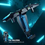 Mobile Gaming Controller GameSir F4 Falcon, Mini fast Gamepads Joystick Grip For Android/iOS for iPhone, Plug and Play Gaming