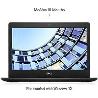 DELL Vostro 3490 14-inch Thin & Light Laptop (10th Gen Core i3-10110U/4GB/1TB HDD/Window 10/Integrated Graphics), Black