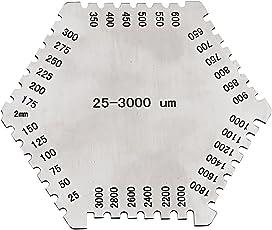 Non-Brand High Precision Wet Film Comb Hexagonal Gauge Pocket Gage High Precision 37.5mm