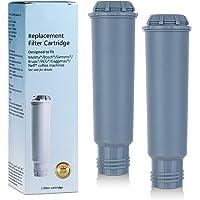 Somune Lot de 2 cartouches de filtre à eau pour machine à café Melitta/Krups Claris F088 F088 01/Siemens TCZ60003 /AEG…