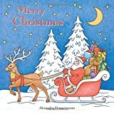 Merry Christmas: a beautiful colouring book for adults