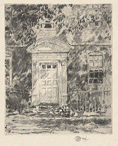 Das Museum Outlet-Portsmouth die Tür, 1916-Poster Print Online kaufen (76,2x 101,6cm)