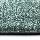 casa pura Shaggy Teppich Bali | Weicher Hochflor Teppich für Wohnzimmer, Schlafzimmer und Kinderzimmer | mit GUT-Siegel | Verschiedene Größen | viele Moderne Farben (140 x 200 cm, türkis)
