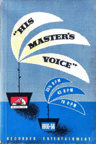 His Masters Voice recorded entertainment: catalogue 1955-56