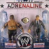 WWE Wrestling Adrenaline Series 28 Action Figure 2-Pack Vince McMahon & Umaga by Jakks