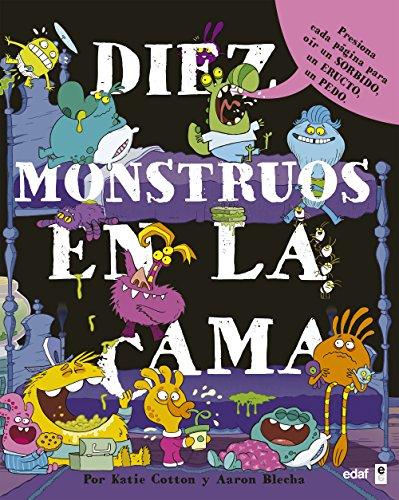 DIEZ MONSTRUOS EN LA CAMA (Infantil) por KARIE COTTON
