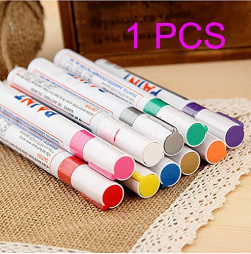 1-pcs-fine-paint-oil-based-art-marker-pen-metal-glass-waterproof-pink