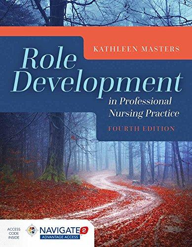 Role Development In Professional Nursing Practice por Kathleen Masters