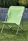 Liegestuhl für Kinder Gartenstuhl Liege Strandliege grün