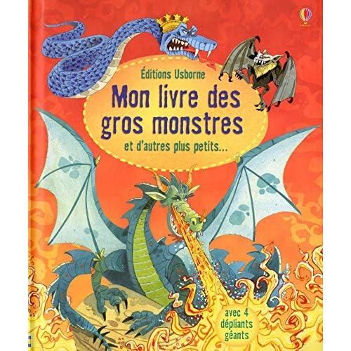 Mon livre des gros monstres et d'autres plus petits...