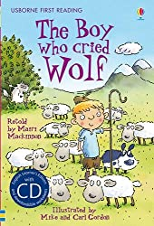 The Boy Who Cried Wolf (Usborne First Reading, Level 3) by Mairi MacKinnon (2011-11-01)