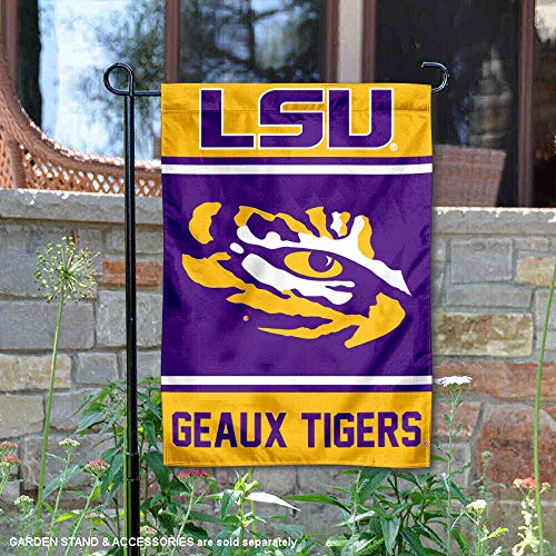 College Flags and Banners Co. Louisiana State LSU Tigers Garten Flagge